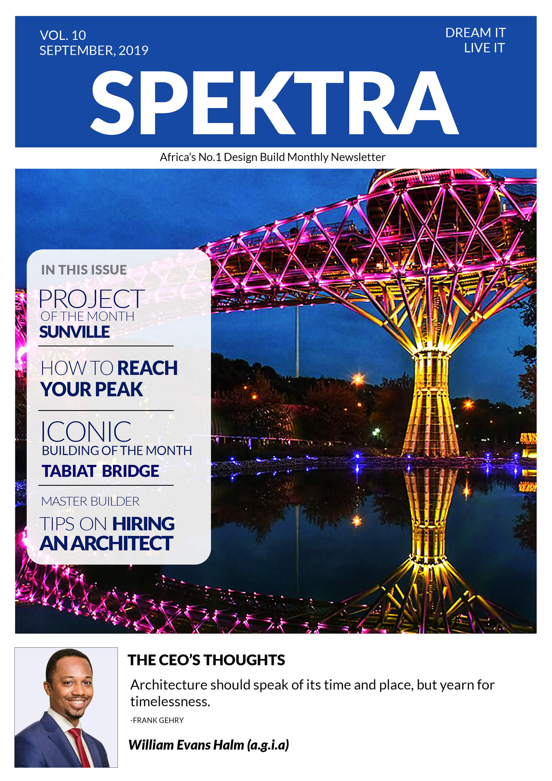 Spektra Global September Newsletter