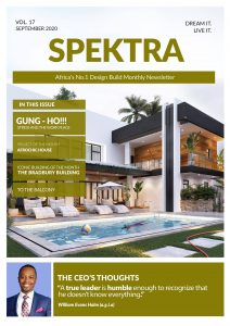 Spektra Gloabl September news letter cover